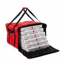 "Pizza Delivery Bag Insulated 18"" Safe For Hot Food Transporting Cold Box Carrier"