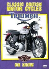 TRIUMPH ON SHOW - CLASSIC BRITISH MOTORCYCLES - NEW DVD