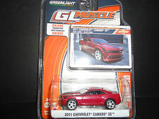 Greenlight Chevrolet Camaro SS 2011 Red 1/64