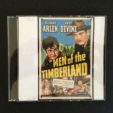 MEN OF THE TIMBERLAND DVD 1941 Richard Arlen Andy Devine Classic Adventure Movie