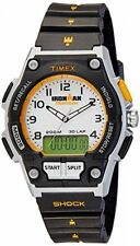 "Timex T5K200, Men's ""Ironman"" 30 Lap, Resin Shock Watch, Combo,Indiglo, T5K2009J"