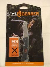 Gerber Bear Grylls Compact Scout Knife, Drop Point [31-000760]
