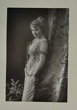 Fine 1890 Cabinet Card Portrait Photo Miss Adelaide Detchon Actress W&D Downey