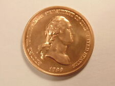 U.S. Bicentennial era (1970s) bronze medal of George Washington