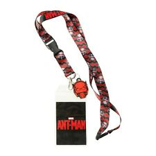Marvel Ant Man Lanyard Key Chain With Rubber Charm