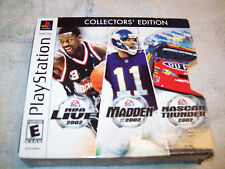 EA Sports Collectors' Edition (Sony PlayStation 1, 2002)  COMPLETE
