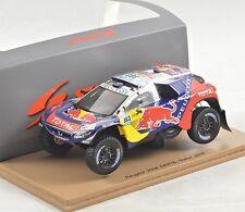 NEW 1/43 Spark S4877 Peugeot 2008 DKR, Rallye Dakar 2016, Sainz #303