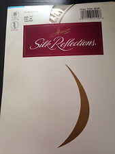 Hanes Silk Reflections Control Top Stockings--Sandalfoot-- Size AB-Travel Buff