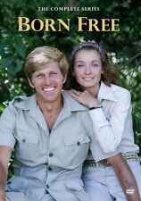 BORN FREE : THE COMPLETE SERIES (1974) -  Region Free DVD - Sealed