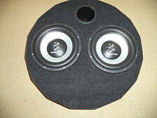"Reserveradgehäuse, inkl. Ground Zero 2x10"" Subwoofer"
