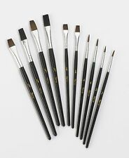 10 Pc Harris Performance Fine Detail Artist Paint Brush Set painting (E3C) # E