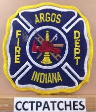 ARGOS, INDIANA FIRE DEPARTMENT PATCH IN