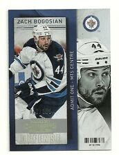 2013-14 Panini Contenders GOLD Parallel #69 ZACH BOGOSIAN  Serial # 12 of 100