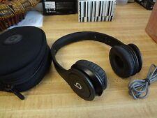 Genuine  Beats By Dr. Dre Solo HD  On Ear Headphones - Black