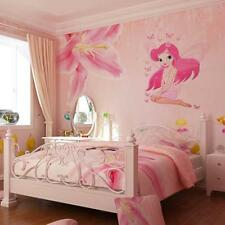 New Baby Girls Kids Fairy Princess Butterly Decal Vinyl Wall Stickers Room Decor