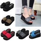 Summer womens Platform Thong Flip Flops Wedge Slippers Beach Sandals Shoes