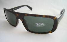 PRADA SUNGLASSES SPR 03O 2AU 3O1 HAVANA BROWN GREEN BNWT GENUINE