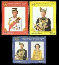 Installation OF 14th DYMM Agong Malaysia 2012 People King Royal (stamp) MNH