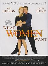 What Women Want Mel Gibson 2001 Magazine Advert #7538