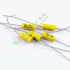 15pcs Long leads Tubular Axial Polyester Film Capacitor 0.022uF 630V 223 audio