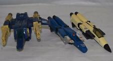 Incomplete Transformers G1 Thundercracker  Ramjet & Trigger Happy Lot Parts Only