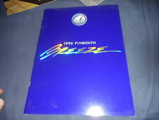 1996 Plymouth Breeze Color Brochure Catalog Prospekt