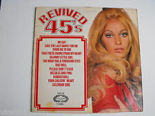 """""""REVIVED 45's""""  LP on Hallmark SHM 748.Vol 2. 1971 Sexy Model on Cover"""