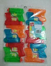 12 Pack MINI WATER GUN PISTOL  Beach Pool Toy Party Multicolor NEW