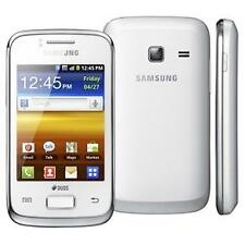 Brand New (seal open) Samsung Galaxy Y Duos S6102 (white)-Rrefurbished