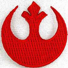 Star Wars Rebel Insignia Logo Mini Embroidered Patch 1.5 inch