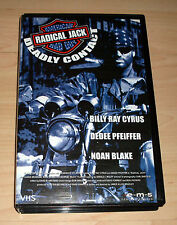 VHS - Deadly Contact - Radical Jack - Billy Ray Cyrus - Videokassette