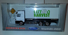 Welly - City Harvest Truck - Mercedes-Benz Delivery Cargo Diecast & Plastic