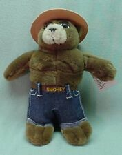 50 Years  Smokey Bear plush stuffed doll Original 8 inches  1994 with tag