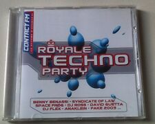 ROYALE TECHNO PARTY  -  COMPILATION (CD).