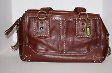 New w/out tags Coach LG HAMPTONS ANDREA VINTAGE BROWN TOTE BAG SATCHEL PURSE  BH