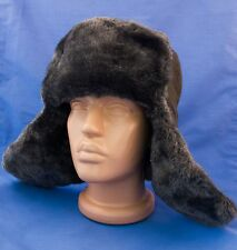 Russian RED Army Military Soviet USSR Ushanka winter hat size57