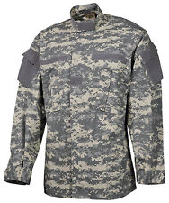US ACU AT Digital Feldjacke Army UCP Digi camo Rip Stop coat Jacke XLarge