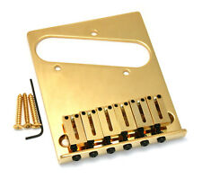 Genuine Fender Gold American Series Offset Telecaster/Tele Bridge 099-0807-200