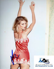 ROSIE HUNTINGTON WHITELEY AUTOGRAPH SIGNED 8x10 PHOTO TRANSFORMERS MODEL COA
