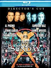 Any Given Sunday (Blu-ray Disc, 2009, Canadian Blu-Ray Director's Cut )