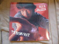 "MICK JAGGER ROLLING STONES 1987 throwaway NEW/SEALED ORGNL US 3-TRK 12"" EP peace"