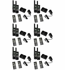 NEW! (12) COBRA CXR-925 35 Mile 22 Channel Walkie Talkie 2-Way Radios w/ NOAA