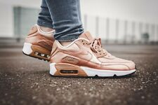 NIKE AIR MAX 90 SE LEATHER ROSEGOLD - WOMENS - UK SIZE 5.5