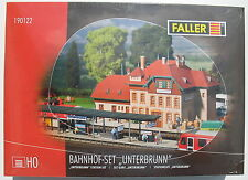 FALLER 190122 - Bahnhof-Set Unterbrunn - Spur H0 Eisenbahn Modellbausatz NEU&OVP