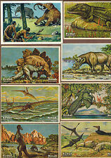 DINOSAURS: Collection of Scarce Antique Cards (1900)I