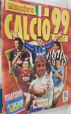 ALBUM CALCIATORI MERLIN S CALCIO 99 Collezionismo Calcio Ragazzi Raccolte Sport