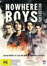 The Nowhere Boys COLLECTION : Series 1-2 + Book Of Shadows (DVD, 5-Disc Set) NEW