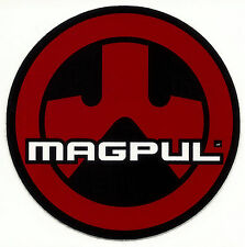 Official MAGPUL logo Mylar Decal - Tactical Window Bumper Sticker DTOM AR15 NRA