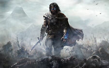 Poster A3 Middle Earth Shadow Of Mordor 01