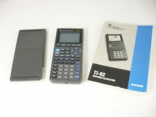 Texas Instrument Graphing Calculator TI-82 with Manual & COVER Works